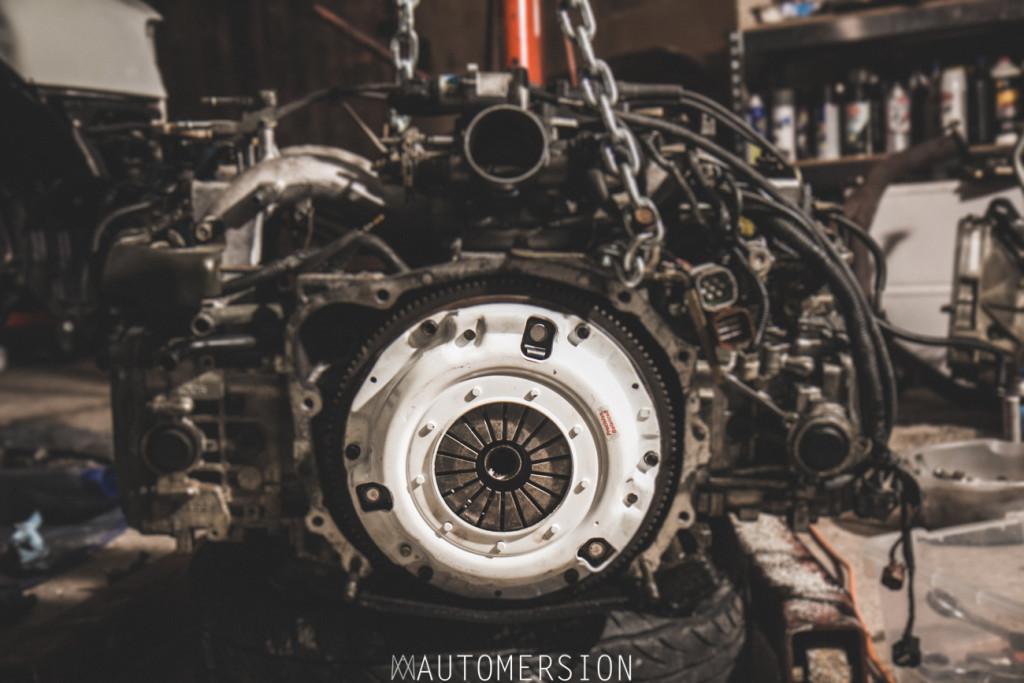 Clutch Master FX250 clutch on Subaru engine