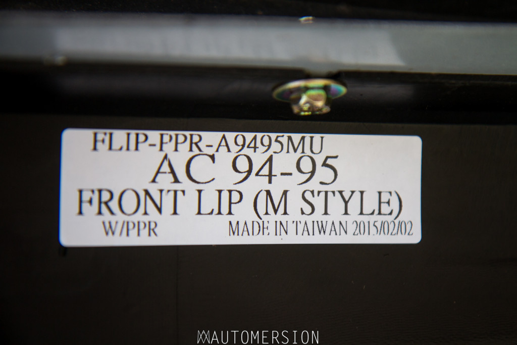 94-95 Honda Accord Mugen style front lip
