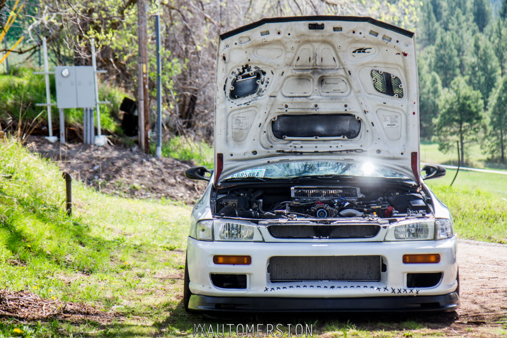 subaru impreza wagon with turbo kit