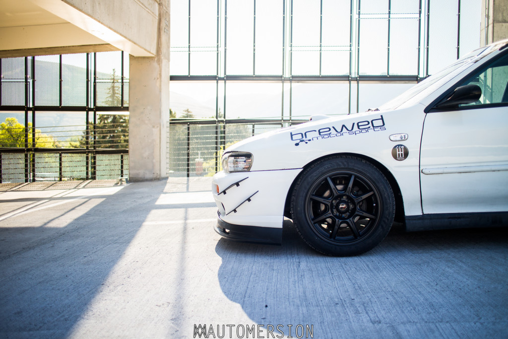 drifz 308 b wheels on a subaru impreza