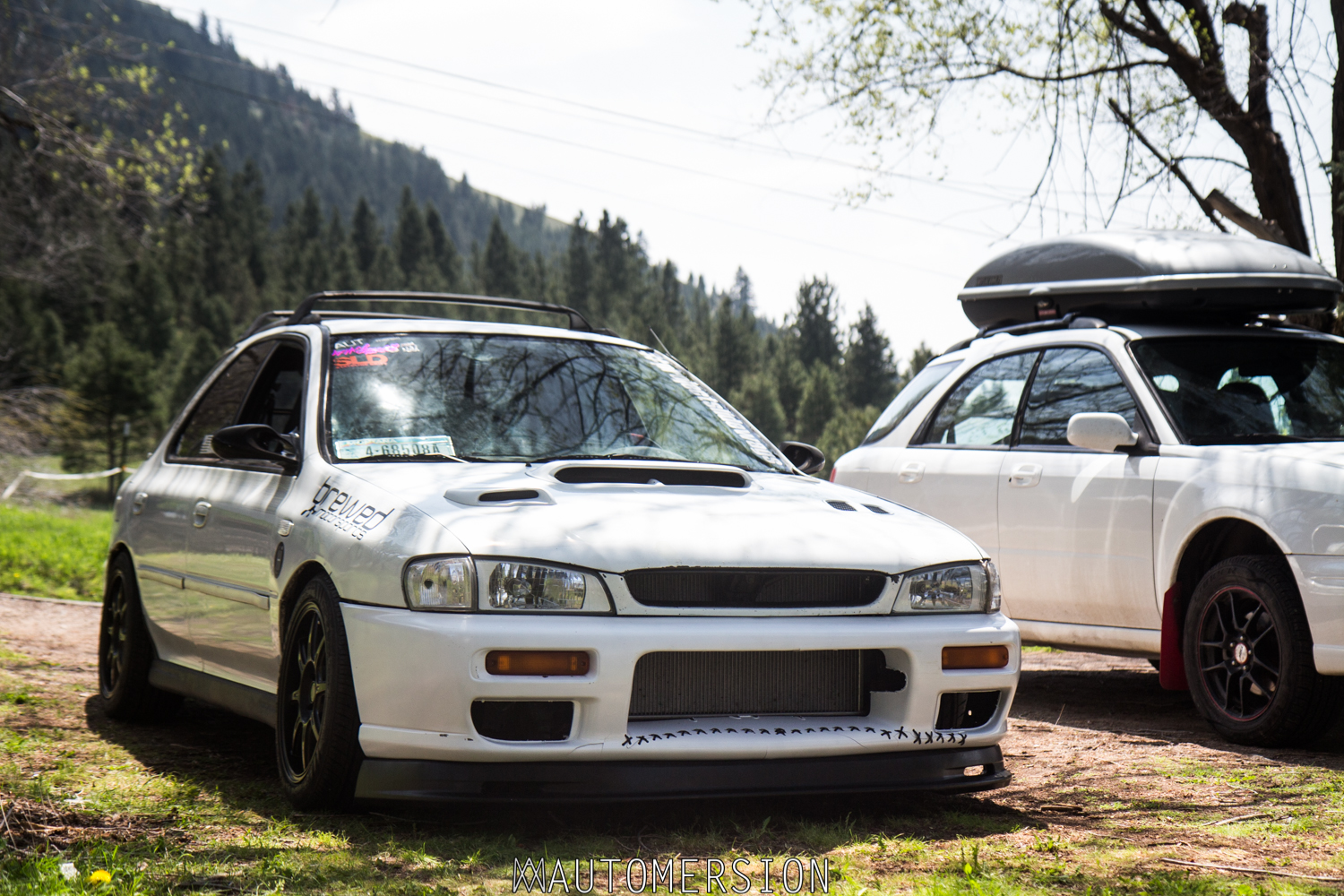 How To Fit A Honda Front Lip On Subaru Automersion 1999 Accord Custom Lowered Impreza And Lifted Wagon